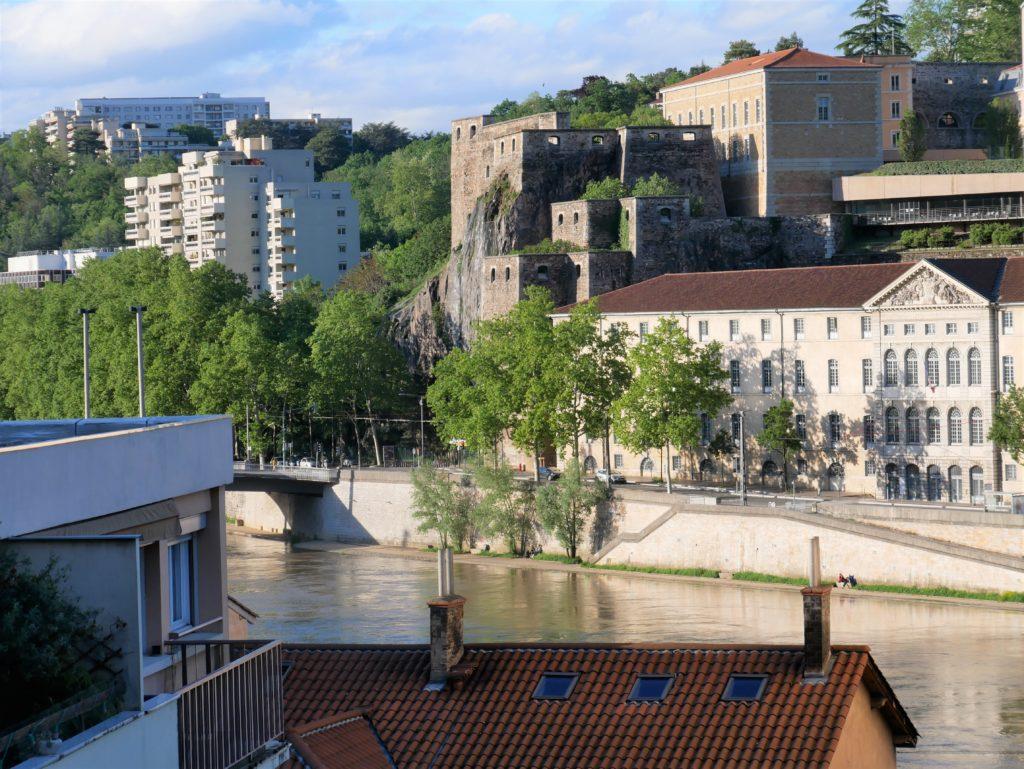 lyon 5 vue Saône